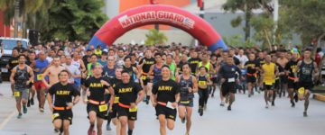 MANDELL TOPS NATIONAL GUARD 5K RUN