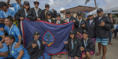 GUAM WOMEN'S VA'A GRAB BRONZE IN ENDURANCE