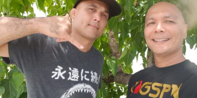 B.J. PENN HANGS OUT ON GUAM