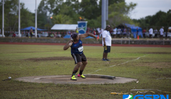 MORE MEDALS FOR TRACK & FIELD ON DAY 2