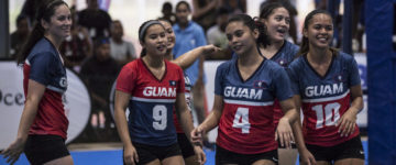 LADIES SURVIVE FIVE-SETTER AGAINST CHUUK