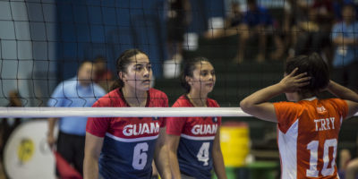 NATIONAL VOLLEYBALL TEAM BUILDING PACIFIC GAMES ROSTER