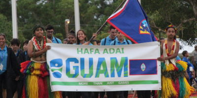2018 MICRONESIAN GAMES LIGHTS FLAME TO START COMPETITION