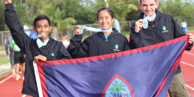TRACK & FIELD ATHLETES RAKE IN GOLD MEDALS