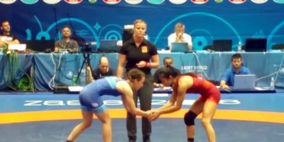 IKEI CAPTURES BRONZE AT WORLD WRESTLING CHAMPIONSHIPS