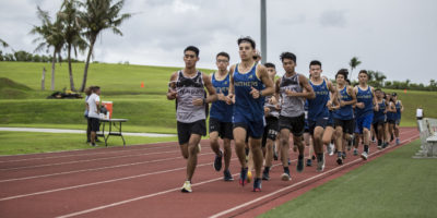 SHARKS PULL AHEAD IN MEET VS PANTHERS