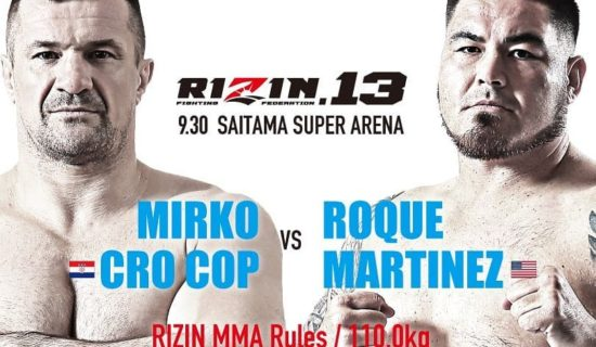 QUICK HITS: ROQUE MARTINEZ BEFORE RIZIN 13