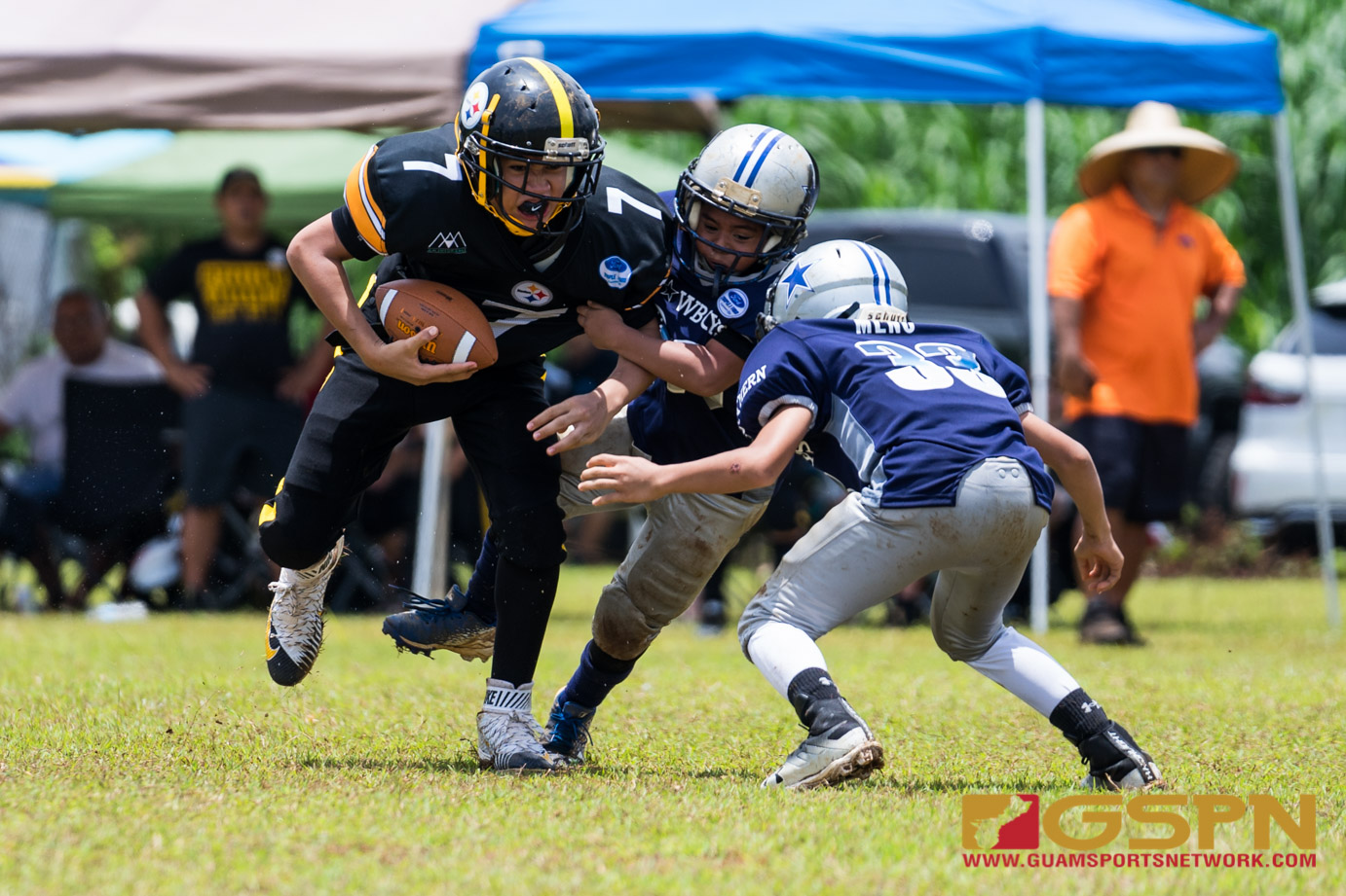 Youth FB Steelers vs Cowboys-1