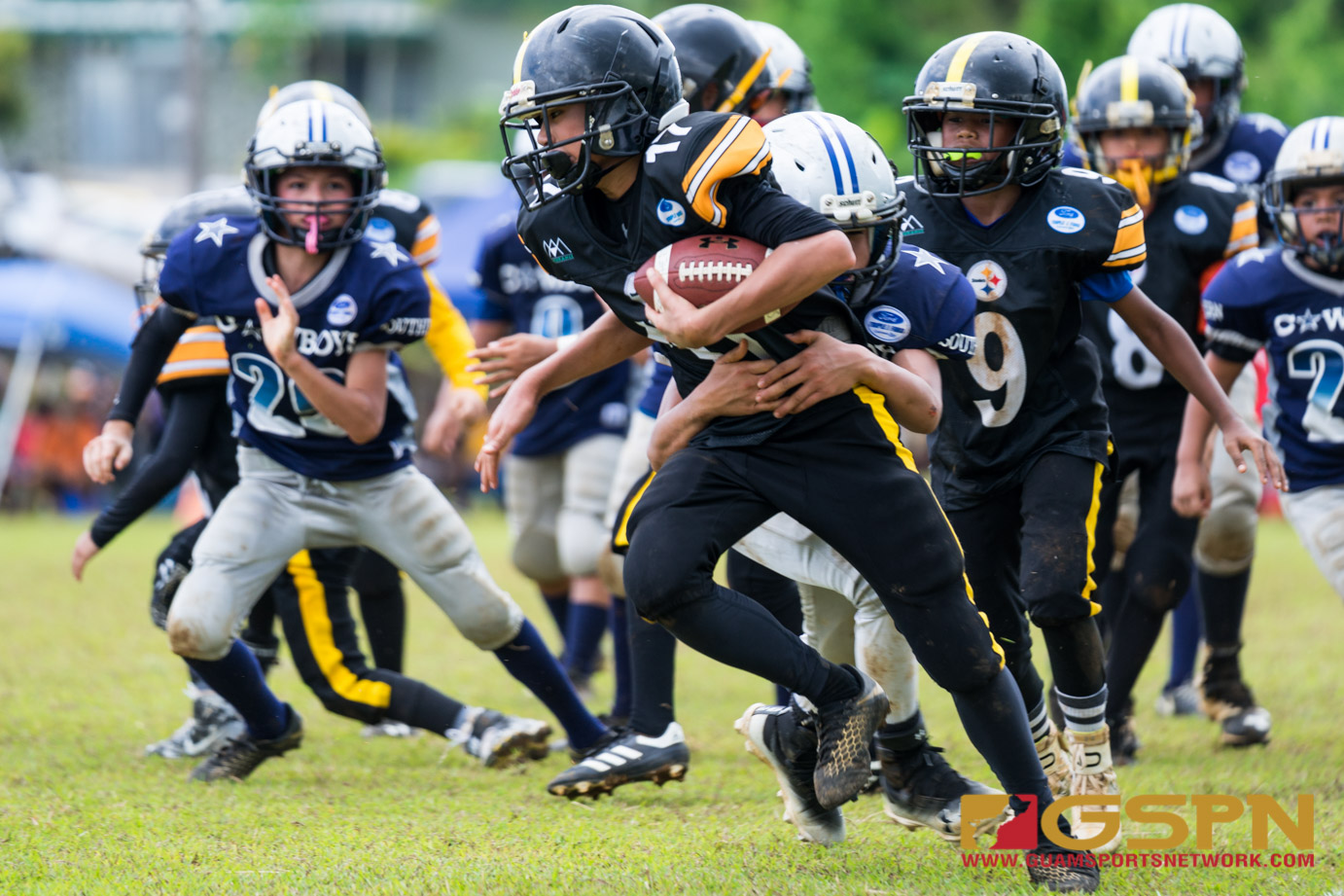 Youth FB Steelers vs Cowboys-11