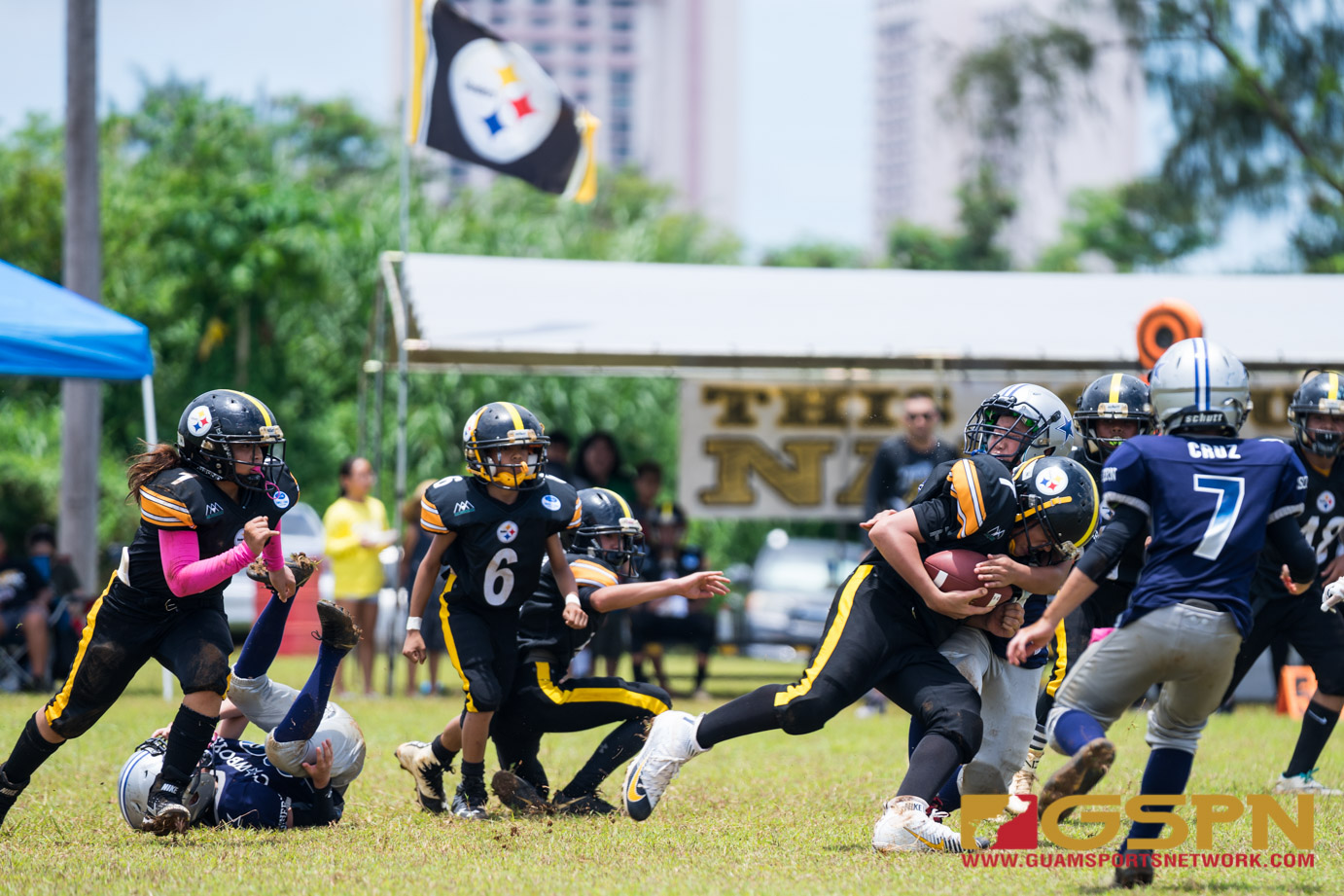 Youth FB Steelers vs Cowboys-4