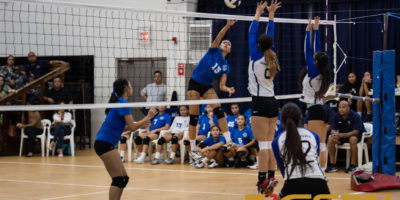 ROYALS DEFEAT WARRIORS IN THREE SETS