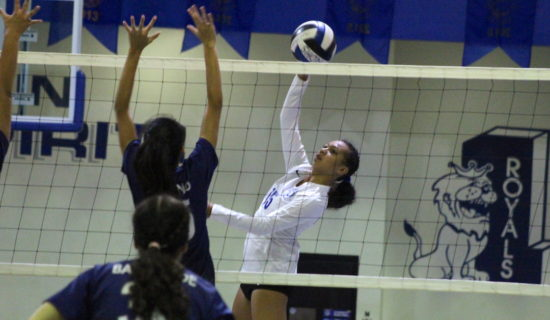 ROYALS HANDLE COUGARS AT HOME IN SECOND MEETING