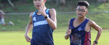 WARRIORS NOW TOP DOGS OF CROSS COUNTRY