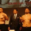 MARTINEZ WEIGHS IN AT 239 LBS. FOR CRO COP FIGHT