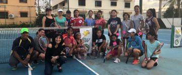 ITF EXPERT, GUAM TENNIS ORGANIZE SOCIAL OUTREACH