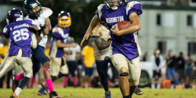 GECKOS SET UP FIFTH STRAIGHT SHOWDOWN WITH FRIARS FOR FOOTBALL TITLE
