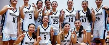 WARRIORS WIN THIRD STRAIGHT ACSC TITLE