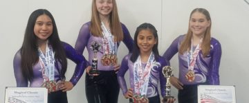 FOUR GUAM GYMNASTS COMPETE IN MAGICAL CLASSIC