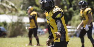 EAGLES DOMINATE OUTLAWS IN WEEK 4 PUSH BACK