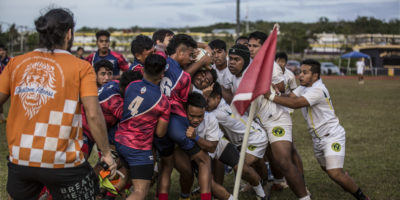 SIX TEAMS BATTLE IN BOYS RUGBY QUARTERFINALS
