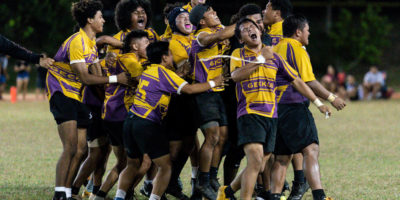 GECKOS DETHRONE FRIARS FOR RUGBY CROWN