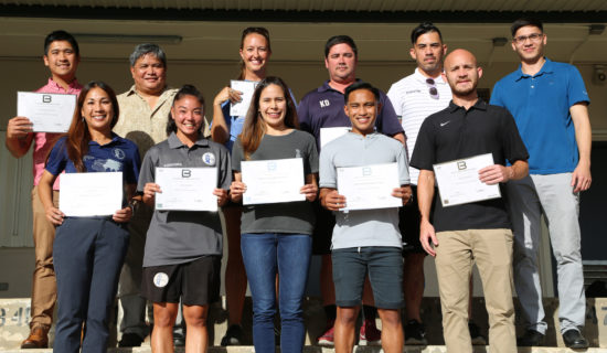 GUAM GAINS MORE AFC 'B' LICENSE COACHES