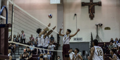 FRIARS TAKE DOWN EAGLES IN BATTLE OF VOLLEYBALL POWER HOUSES