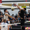 TITANS DROP EAGLES IN FOUR SETS