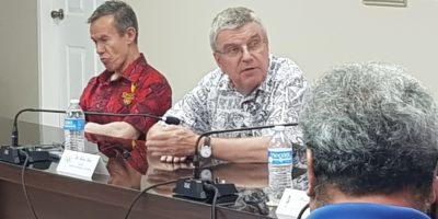 IOC PRESIDENT DR. THOMAS BACH VISITS GUAM