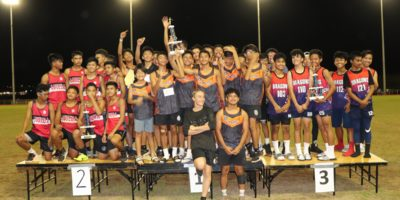 WILDCATS, DRAGONS TOP MIDDLE SCHOOL TRACK