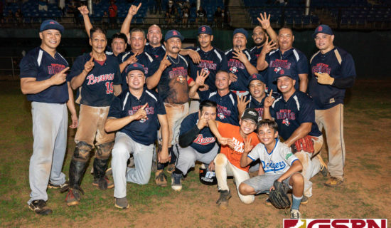 BRAVES HANG ON TO CAPTURE MASTERS BASEBALL LEAGUE