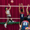 FRIARS BACK IN VOLLEYBALL TITLE GAME WITH WIN OVER BULLDOGS