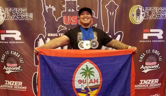 ANTHONY 'BIGTONE' SALAS GETS TWO GOLD MEDALS IN 2019 USPA NATIONAL CHAMPIONSHIP