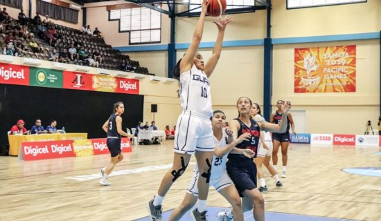 PACIFIC GAMES: GUAM BASKETBALL GETS WINS