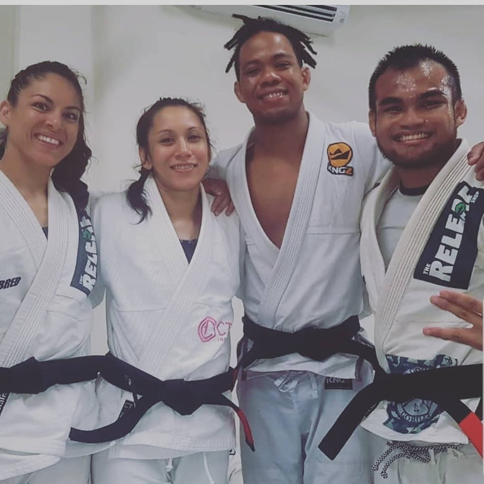 4 black belts